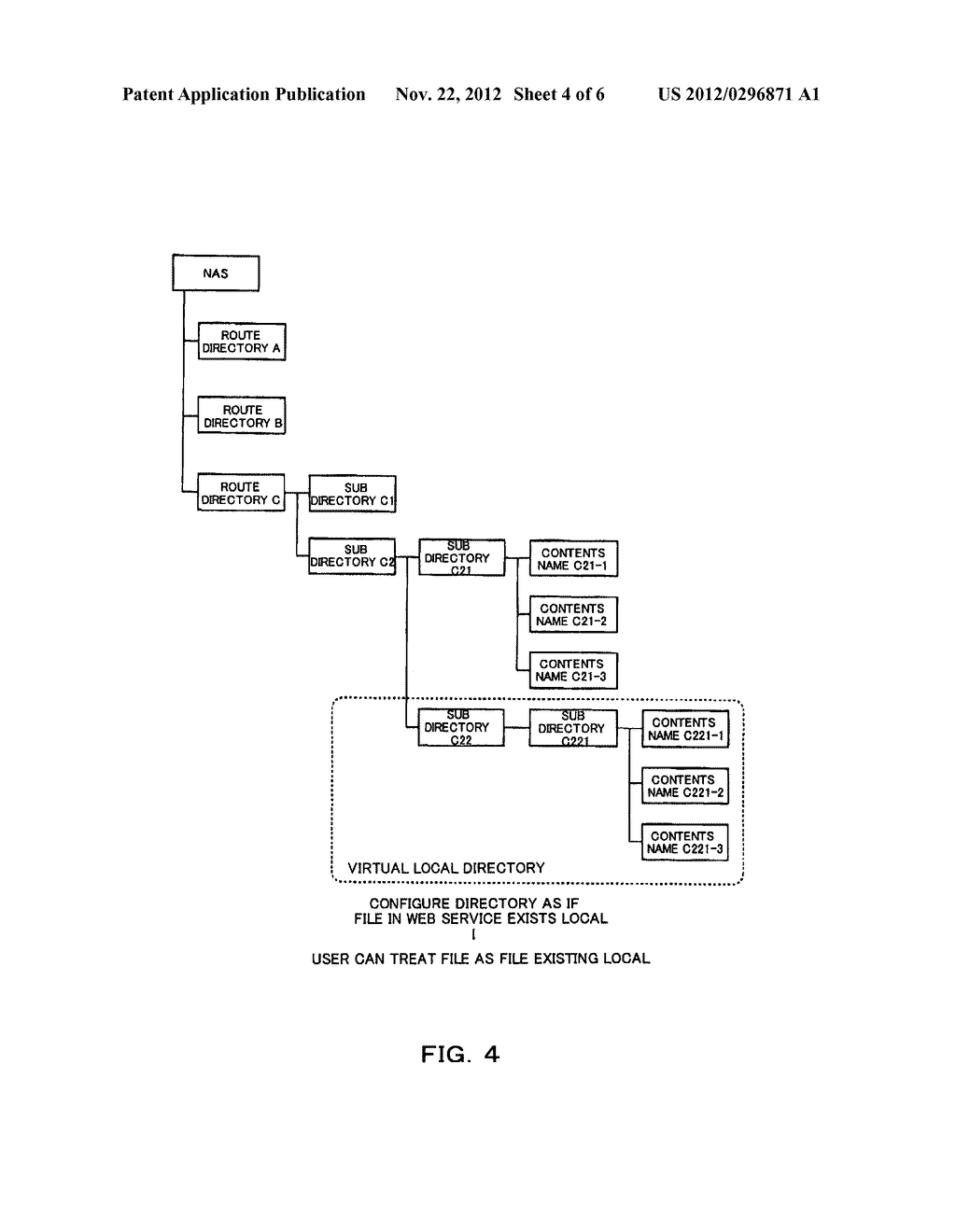 FILE MANAGING APPARATUS FOR PROCESSING AN ONLINE STORAGE SERVICE - diagram, schematic, and image 05