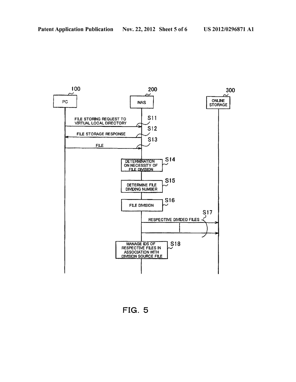 FILE MANAGING APPARATUS FOR PROCESSING AN ONLINE STORAGE SERVICE - diagram, schematic, and image 06