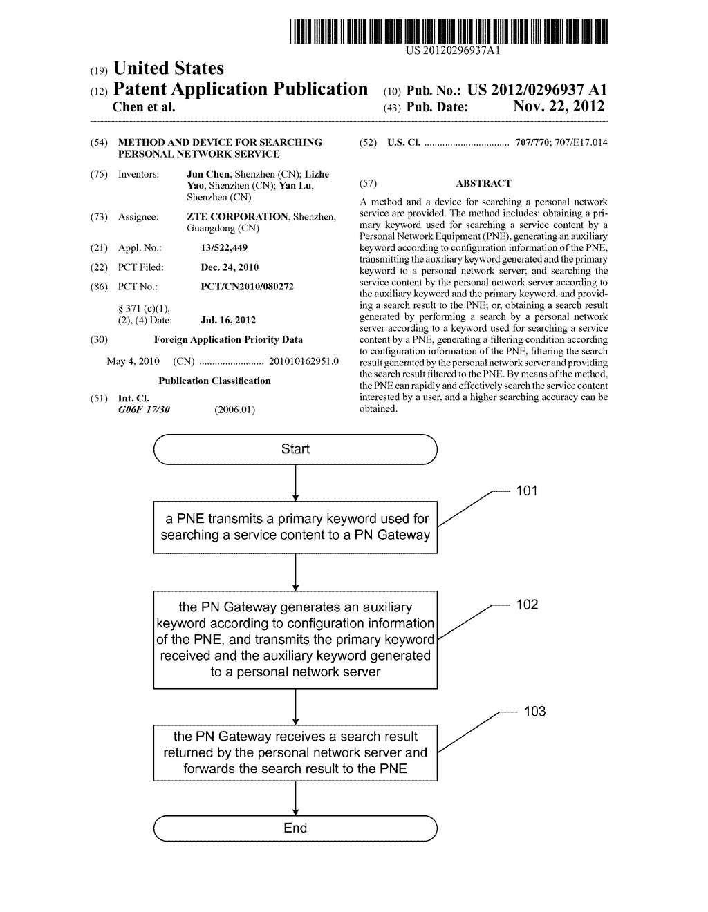 METHOD AND DEVICE FOR SEARCHING PERSONAL NETWORK SERVICE - diagram, schematic, and image 01