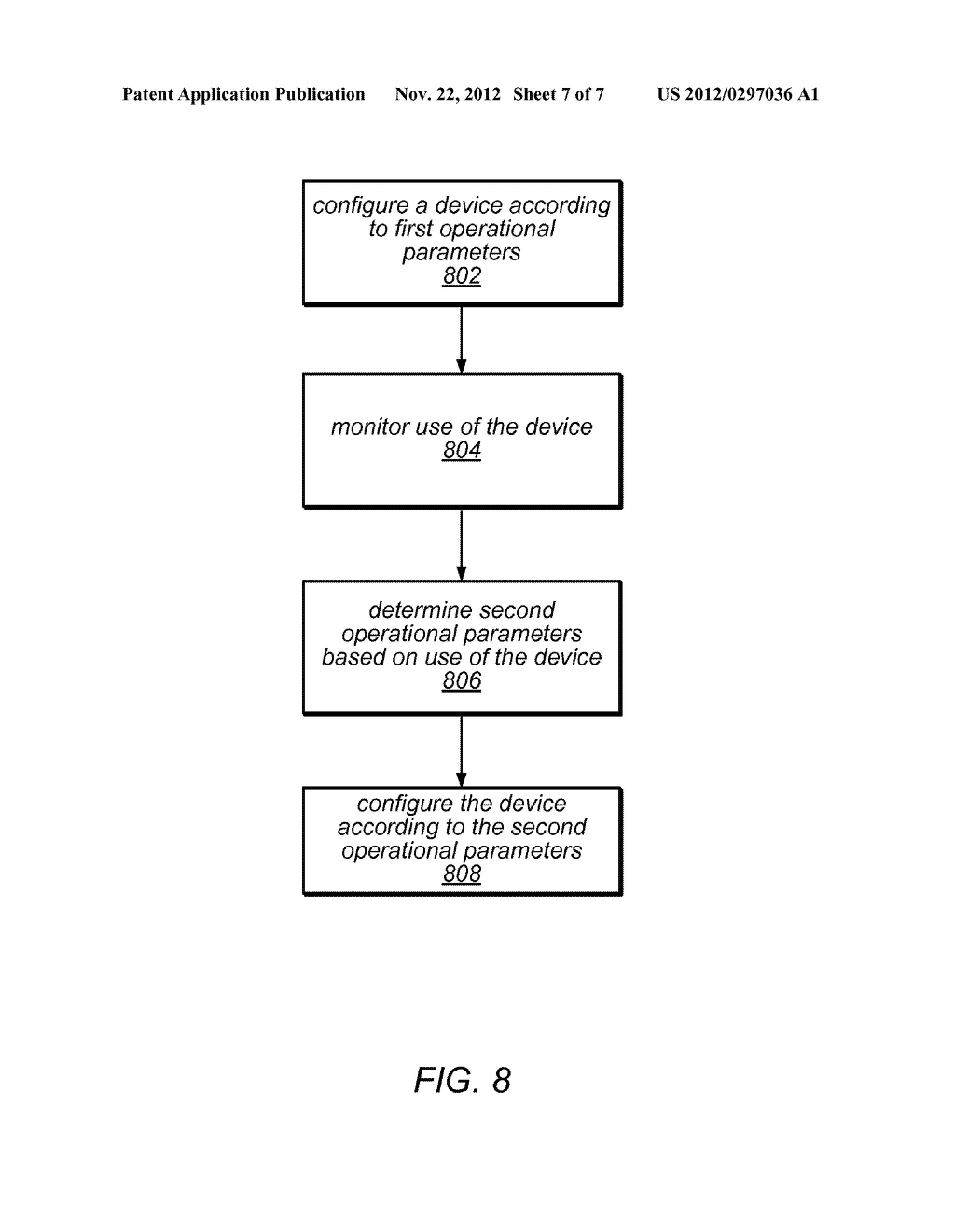 Modifying Operating Parameters of a Device Based on Aging Information - diagram, schematic, and image 08