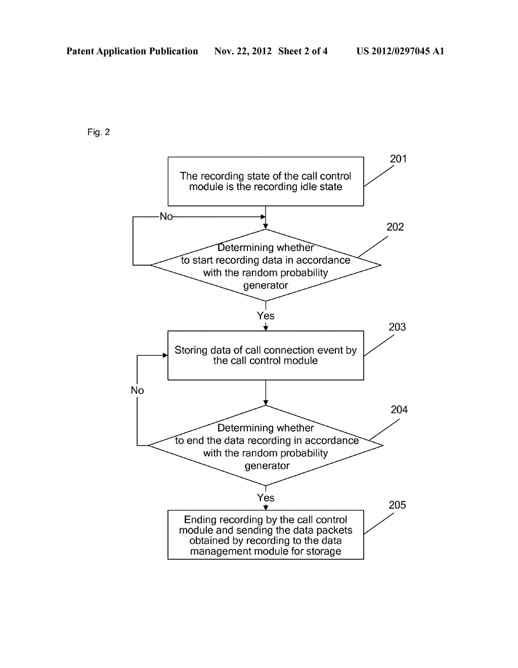 Method and device for recording data of terminal - diagram, schematic, and image 03