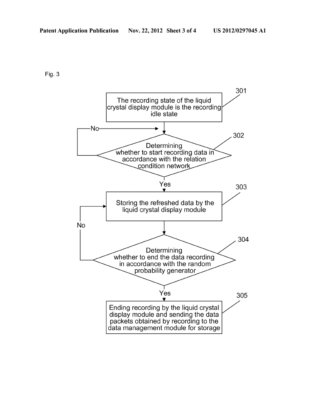 Method and device for recording data of terminal - diagram, schematic, and image 04