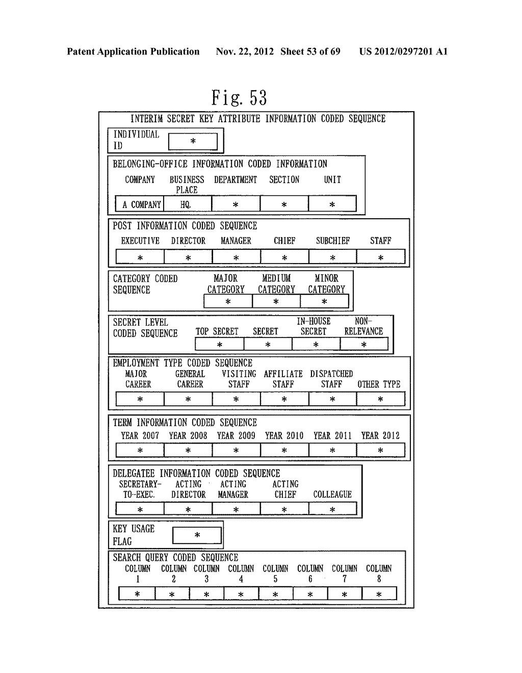 CONFIDENTIAL SEARCH SYSTEM AND CRYPTOGRAPHIC PROCESSING SYSTEM - diagram, schematic, and image 54