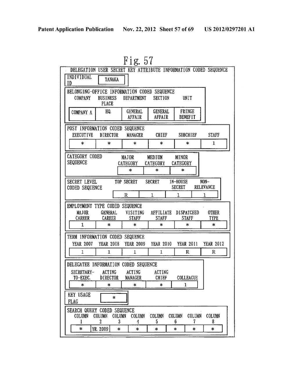 CONFIDENTIAL SEARCH SYSTEM AND CRYPTOGRAPHIC PROCESSING SYSTEM - diagram, schematic, and image 58