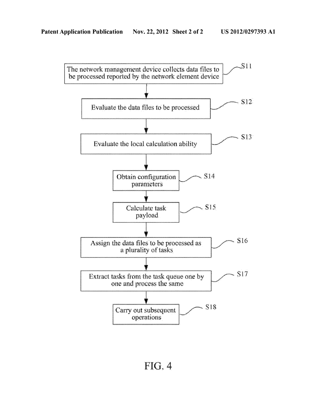 Data Collecting Method, Data Collecting Apparatus and Network Management     Device - diagram, schematic, and image 03