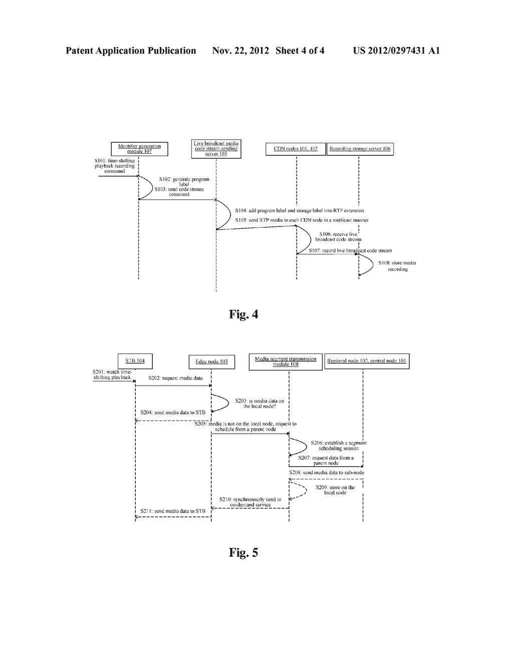 NETWORK-WIDE STORING AND SCHEDULING METHOD AND SYSTEM FOR INTERNET     PROTOCOL TELEVISION - diagram, schematic, and image 05