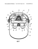 HEADGEAR WITH A SPRING BUFFERED OCCIPITAL CRADLE diagram and image