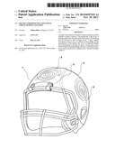 Helmet for Reducing Concussive Forces During Collision diagram and image