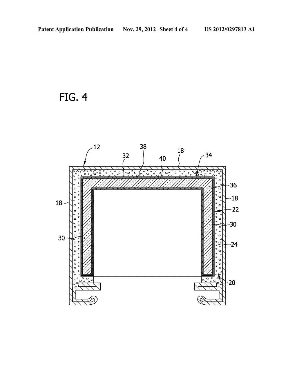METHOD AND APPARATUS FOR INSULATING A REFRIGERATION APPLIANCE - diagram, schematic, and image 05