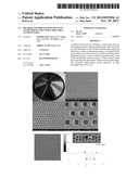 METHOD AND PROCESS FOR METALLIC STAMP REPLICATION FOR LARGE AREA     NANOPATTERNS diagram and image