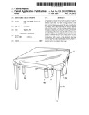 ADJUSTABLE TABLE COVERING diagram and image