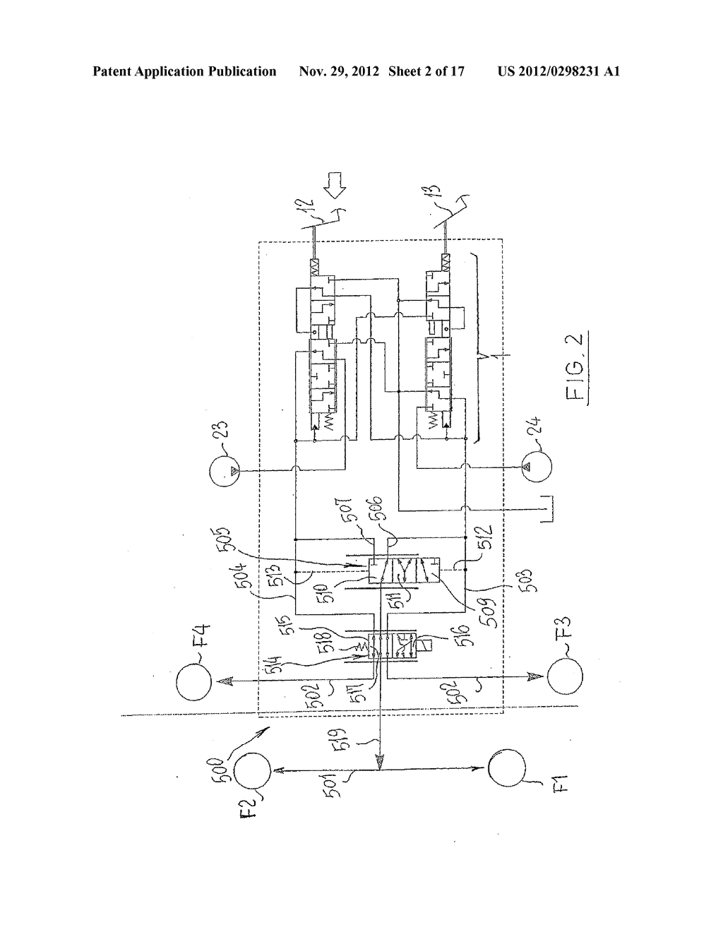 Hydraulic Valve - diagram, schematic, and image 03