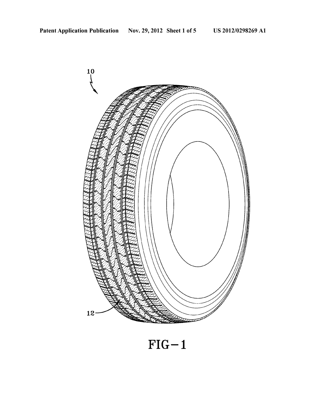 COMMERCIAL TRUCK TIRE - diagram, schematic, and image 02