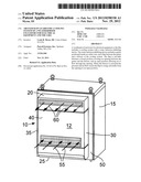 AIR PATH RAIN GUARD FOR A COOLING SYSTEM OF A WEATHERPROOF ENCLOSURE FOR     ELECTRICAL EQUIPMENT AND THE LIKE diagram and image