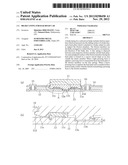 BRAKE LINING FOR RAILROAD CAR diagram and image