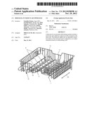 DISH RACK, IN PARTICULAR UPPER RACK diagram and image