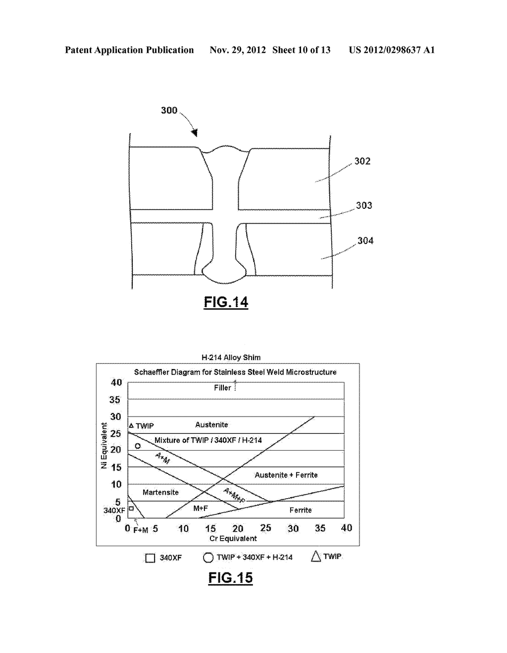METHOD OF LASER WELDING TWIP STEEL TO LOW CARBON STEEL - diagram, schematic, and image 11