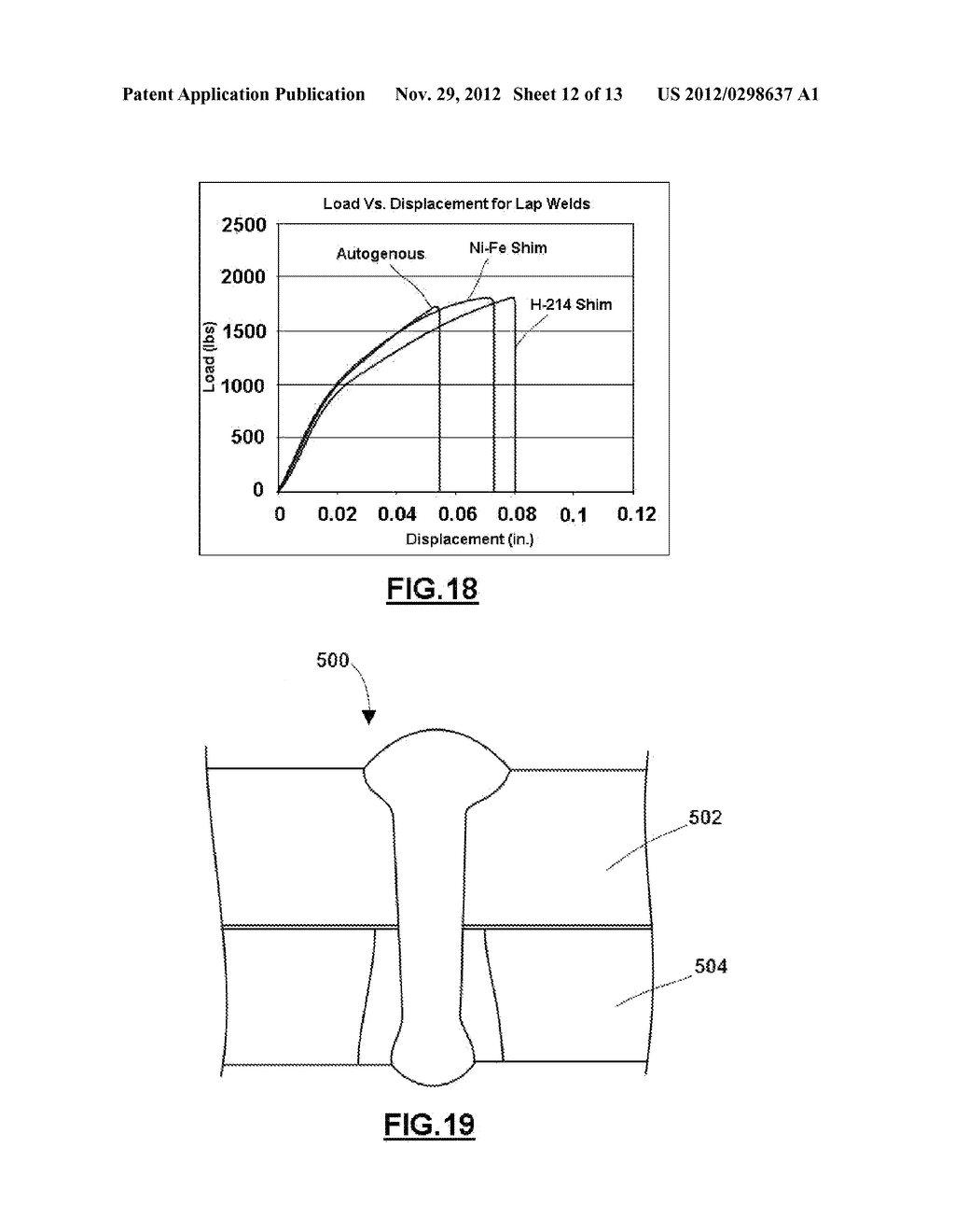 METHOD OF LASER WELDING TWIP STEEL TO LOW CARBON STEEL - diagram, schematic, and image 13
