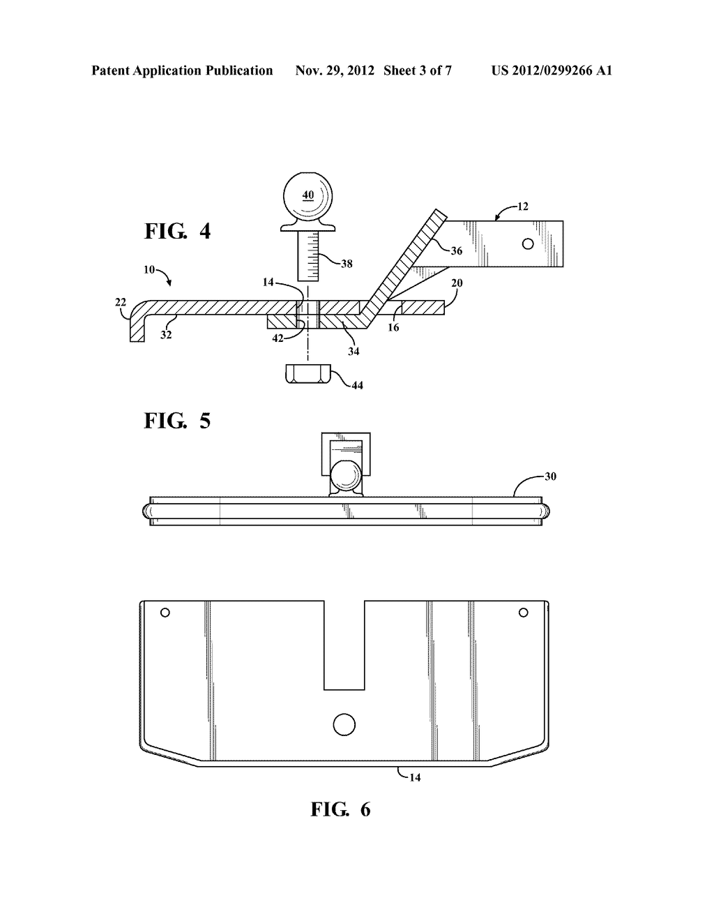 STEP FOR VEHICLE HITCH - diagram, schematic, and image 04