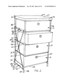 COLLAPSIBLE DRAWERS AND CHEST diagram and image