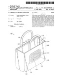 PHOTOVOLTAIC HANDBAG AND SYSTEM diagram and image