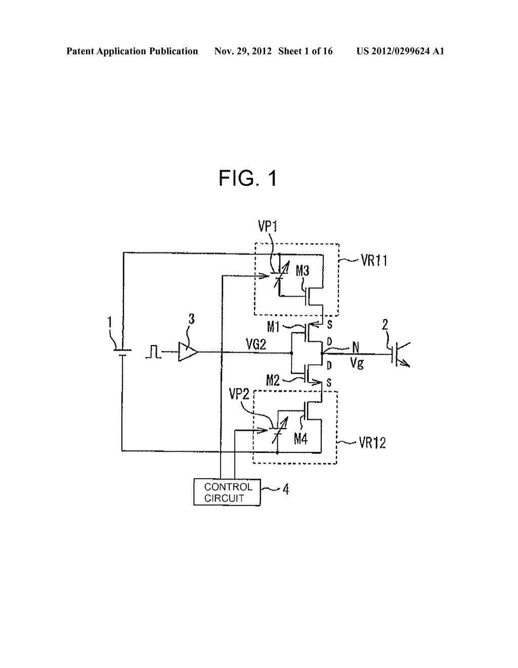 VOLTAGE CONTROLLED SWITCHING ELEMENT GATE DRIVE CIRCUIT - diagram, schematic, and image 02