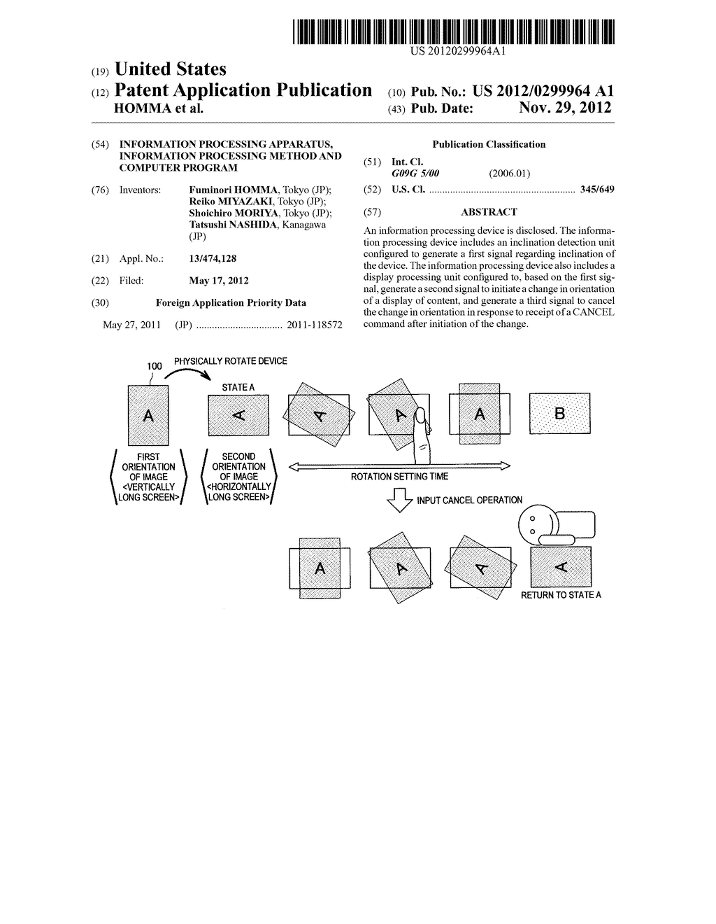 INFORMATION PROCESSING APPARATUS, INFORMATION PROCESSING METHOD AND     COMPUTER PROGRAM - diagram, schematic, and image 01