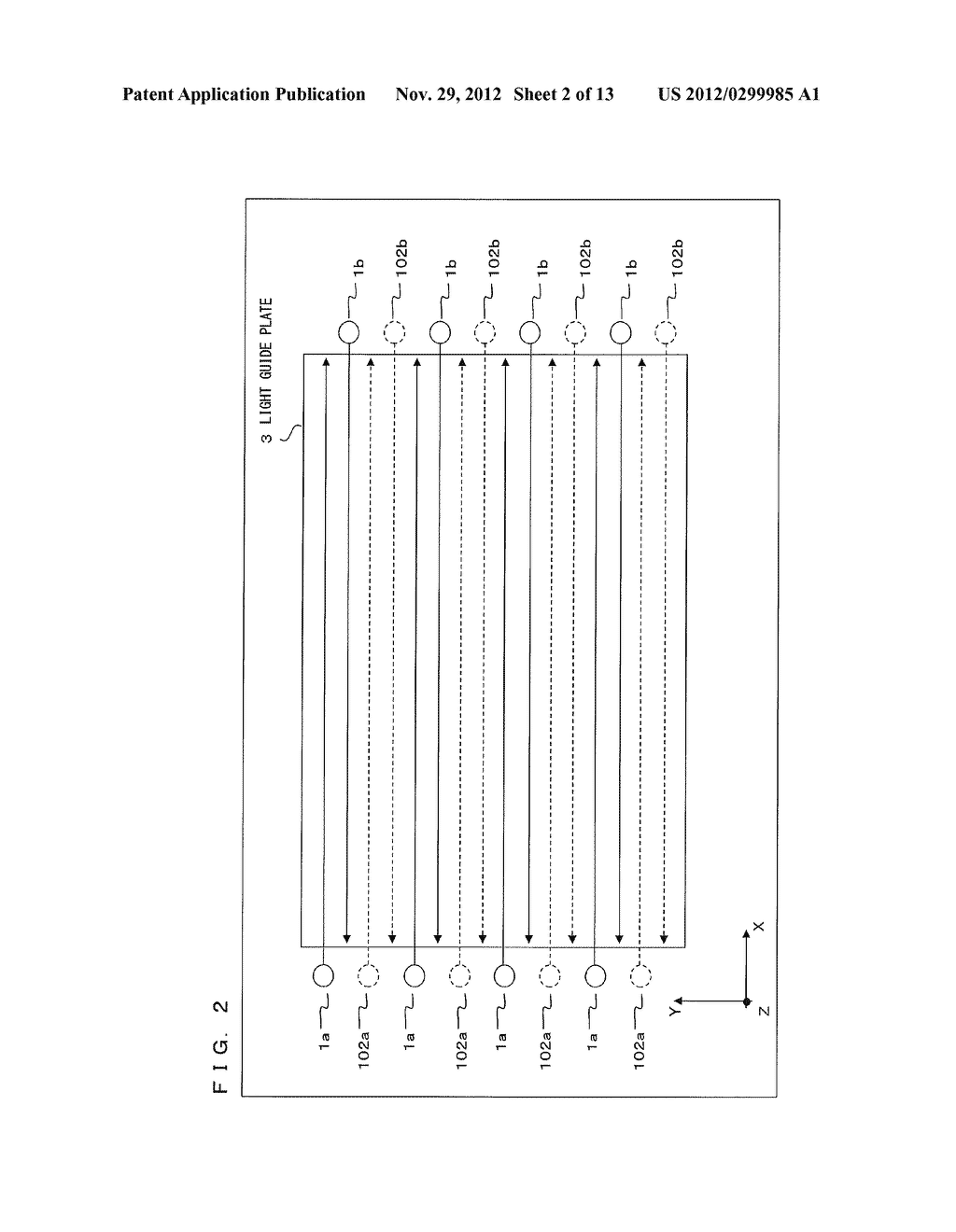 Luminous Intensity Distribution System and Stereoscopic Image Display     Device - diagram, schematic, and image 03