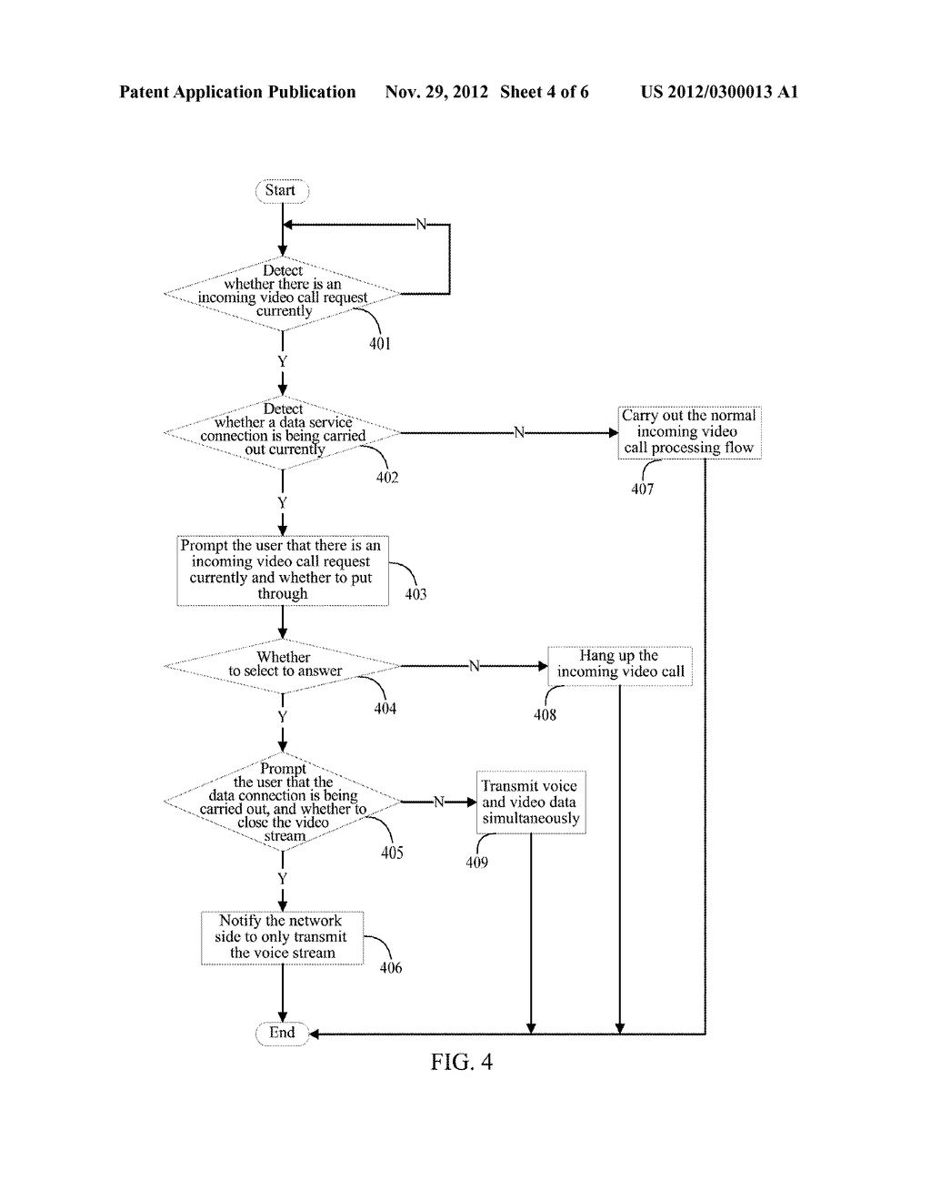 METHOD AND EQUIPMENT FOR REALIZING CONCURRENCY OF VOICE AND DATA - diagram, schematic, and image 05