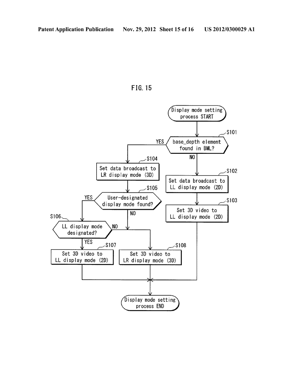 VIDEO PROCESSING DEVICE, TRANSMISSION DEVICE, STEREOSCOPIC VIDEO VIEWING     SYSTEM, VIDEO PROCESSING METHOD, VIDEO PROCESSING PROGRAM AND INTEGRATED     CIRCUIT - diagram, schematic, and image 16