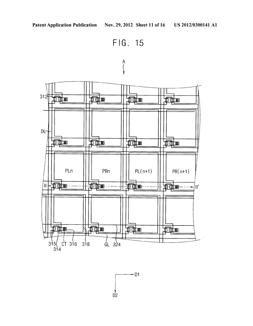 LENS PANEL, METHOD FOR MANUFACTURING THE LENS PANEL, DISPLAY APPARATUS     HAVING THE LENS PANEL, DISPLAY PANEL, A METHOD FOR MANUFACTURING THE     DISPLAY PANEL AND A DISPLAY APPARATUS HAVING THE DISPLAY PANEL - diagram, schematic, and image 12