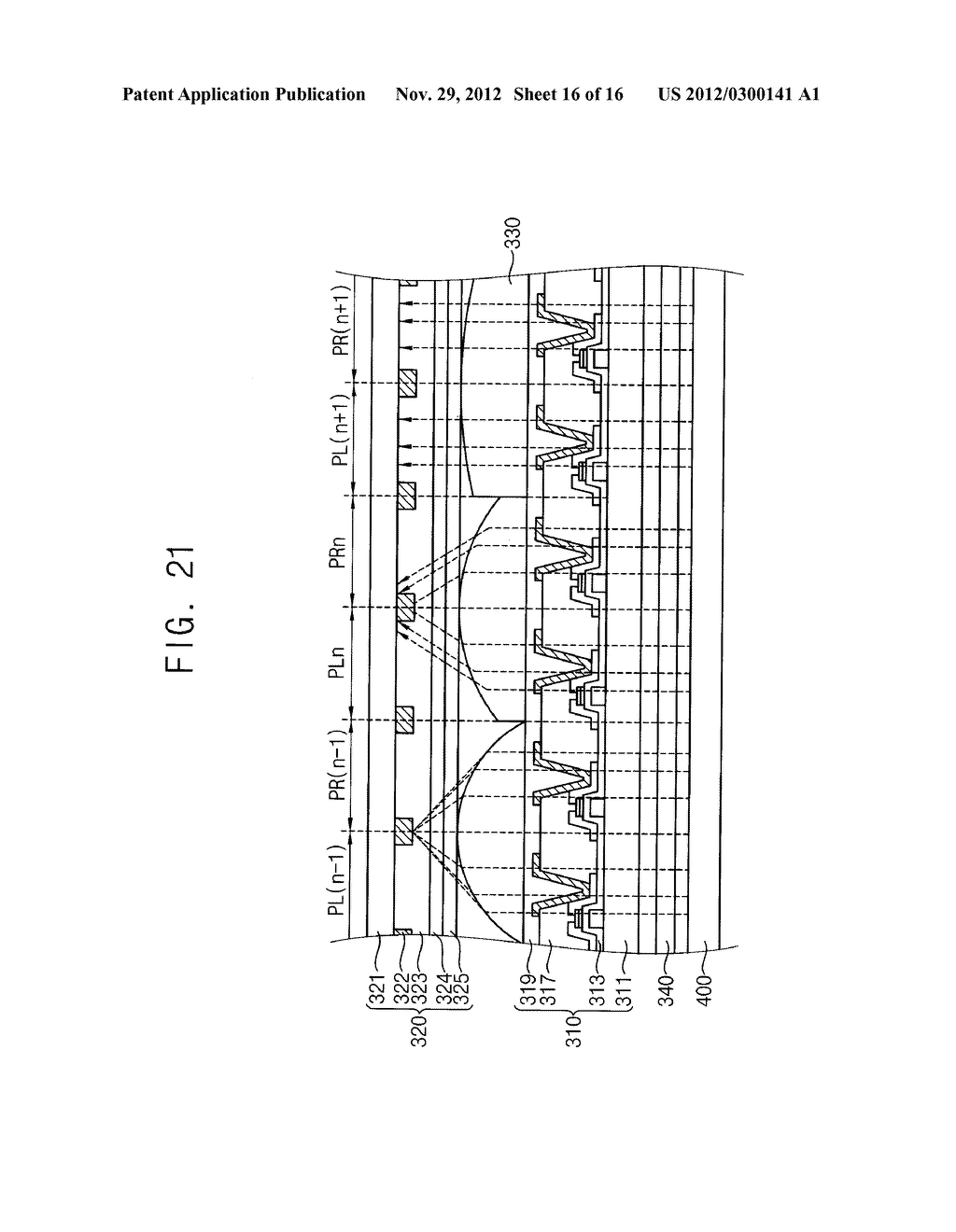 LENS PANEL, METHOD FOR MANUFACTURING THE LENS PANEL, DISPLAY APPARATUS     HAVING THE LENS PANEL, DISPLAY PANEL, A METHOD FOR MANUFACTURING THE     DISPLAY PANEL AND A DISPLAY APPARATUS HAVING THE DISPLAY PANEL - diagram, schematic, and image 17