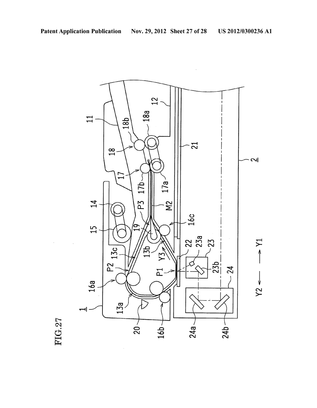 DOCUMENT FEEDING DEVICE AND IMAGE FORMING APPARATUS - diagram, schematic, and image 28