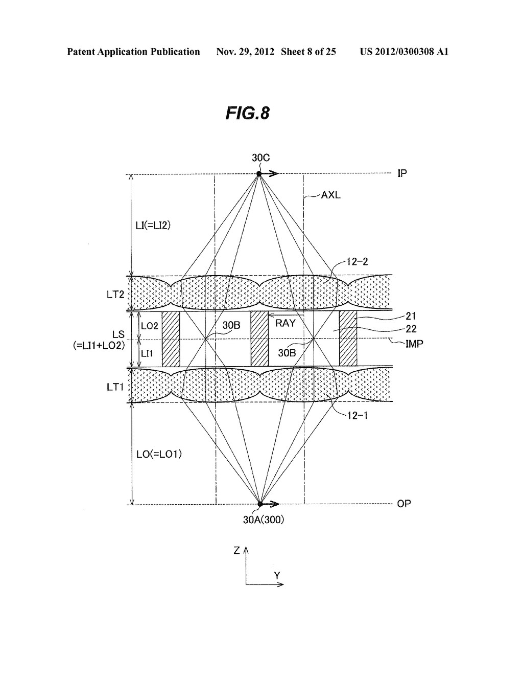 LENS UNIT, LED HEAD, EXPOSURE DEVICE, IMAGE FORMING DEVICE, AND SCANNING     DEVICE - diagram, schematic, and image 09