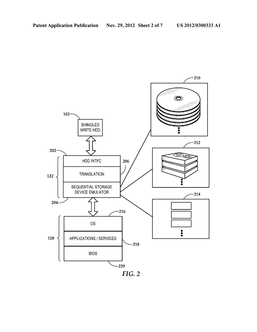 Presentation of Shingled Magnetic Recording Device to a Host Device     Resource Manager - diagram, schematic, and image 03