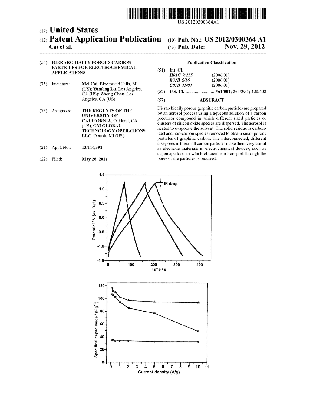 HIERARCHIALLY POROUS CARBON PARTICLES FOR ELECTROCHEMICAL APPLICATIONS - diagram, schematic, and image 01
