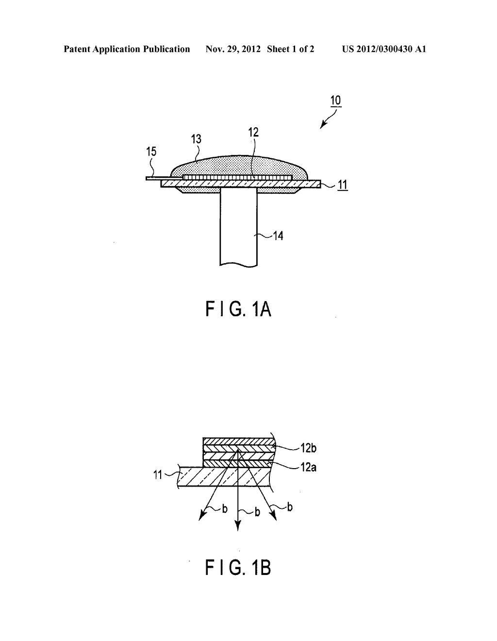 LIGHT-EMITTING MODULE AND LIGHTING APPARATUS - diagram, schematic, and image 02