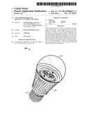 LED Lamp for Producing Biologically-Corrected Light diagram and image