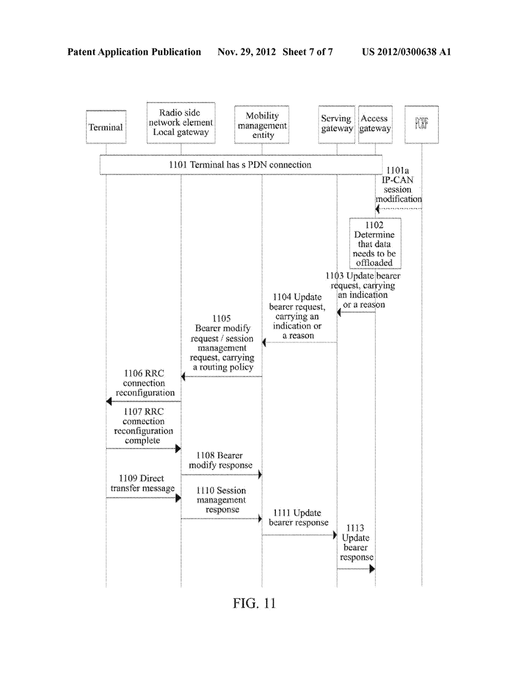 Method and System for Controlling Establishment of Local IP Access - diagram, schematic, and image 08