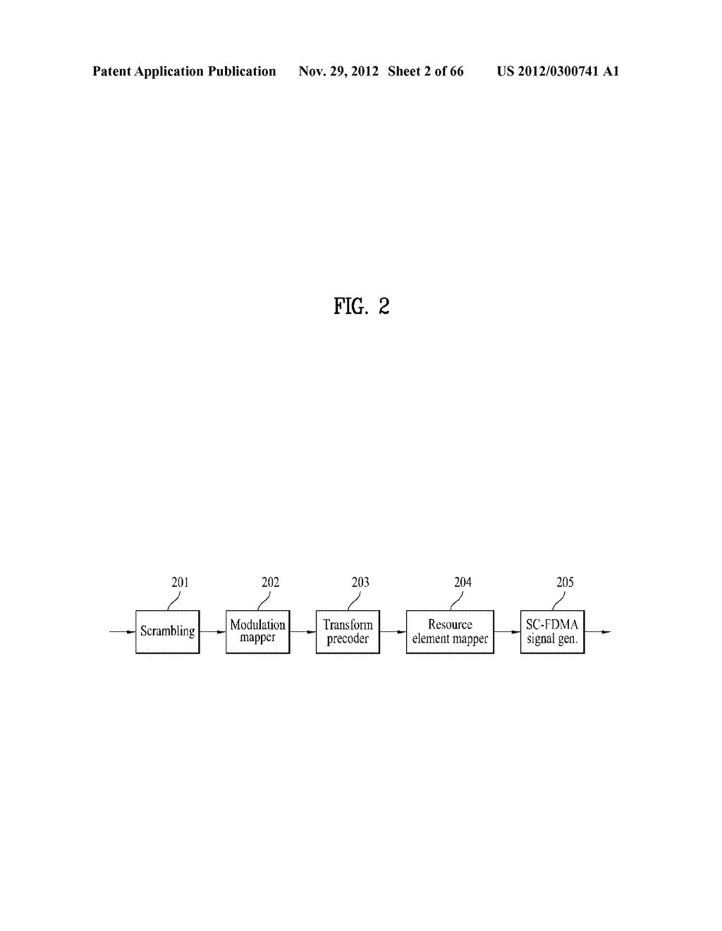 METHOD AND APPARATUS FOR TRANSMITTING CONTROL INFORMATION IN A WIRELESS     COMMUNICATION SYSTEM - diagram, schematic, and image 03