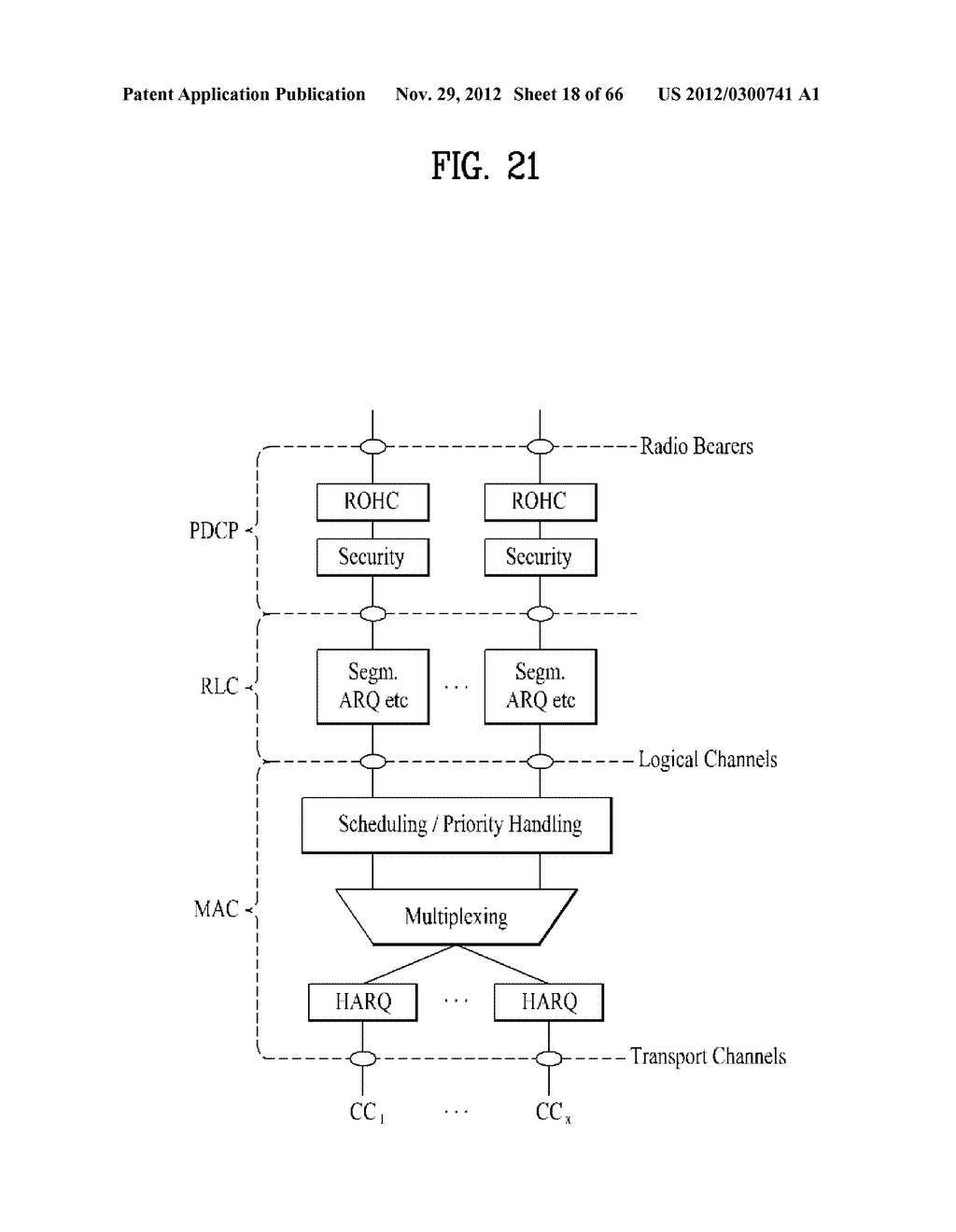 METHOD AND APPARATUS FOR TRANSMITTING CONTROL INFORMATION IN A WIRELESS     COMMUNICATION SYSTEM - diagram, schematic, and image 19