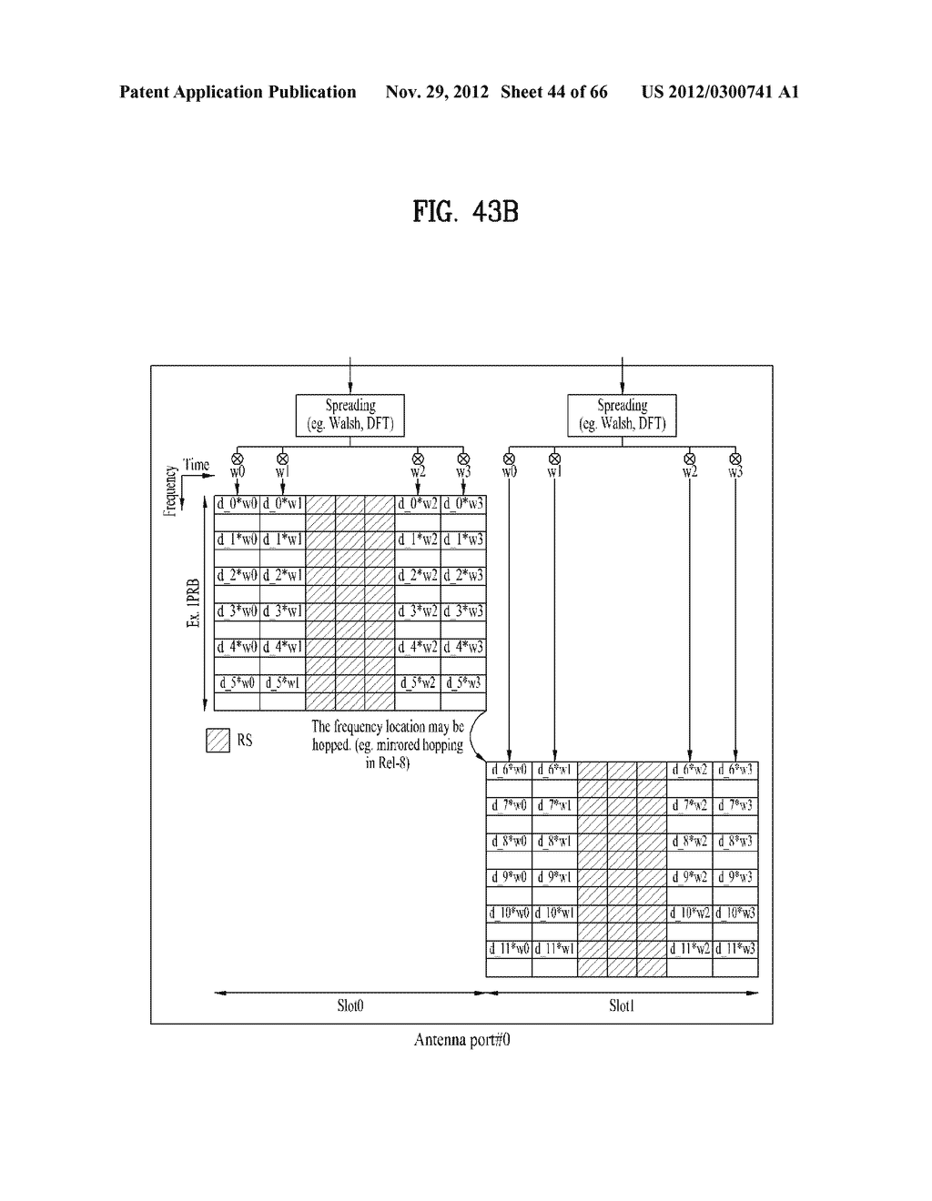 METHOD AND APPARATUS FOR TRANSMITTING CONTROL INFORMATION IN A WIRELESS     COMMUNICATION SYSTEM - diagram, schematic, and image 45
