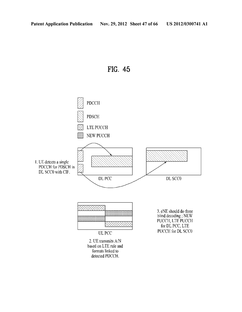 METHOD AND APPARATUS FOR TRANSMITTING CONTROL INFORMATION IN A WIRELESS     COMMUNICATION SYSTEM - diagram, schematic, and image 48