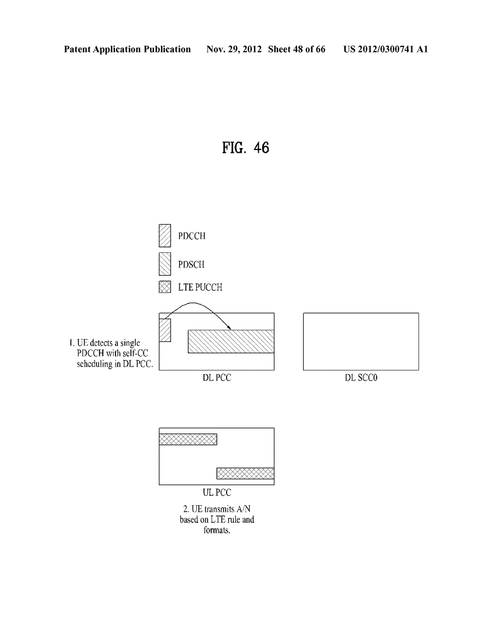 METHOD AND APPARATUS FOR TRANSMITTING CONTROL INFORMATION IN A WIRELESS     COMMUNICATION SYSTEM - diagram, schematic, and image 49