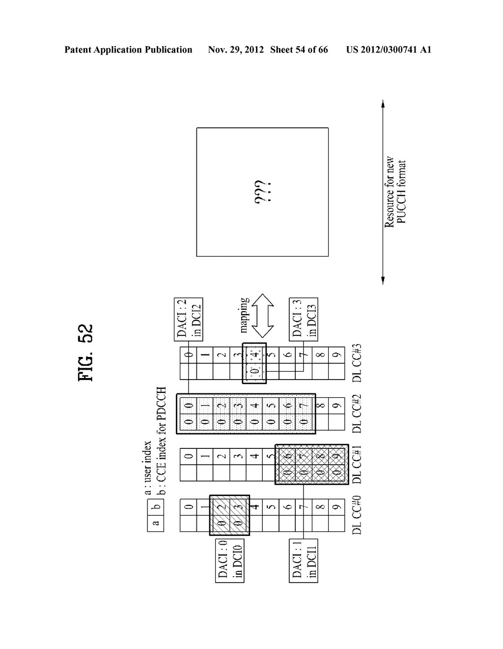 METHOD AND APPARATUS FOR TRANSMITTING CONTROL INFORMATION IN A WIRELESS     COMMUNICATION SYSTEM - diagram, schematic, and image 55