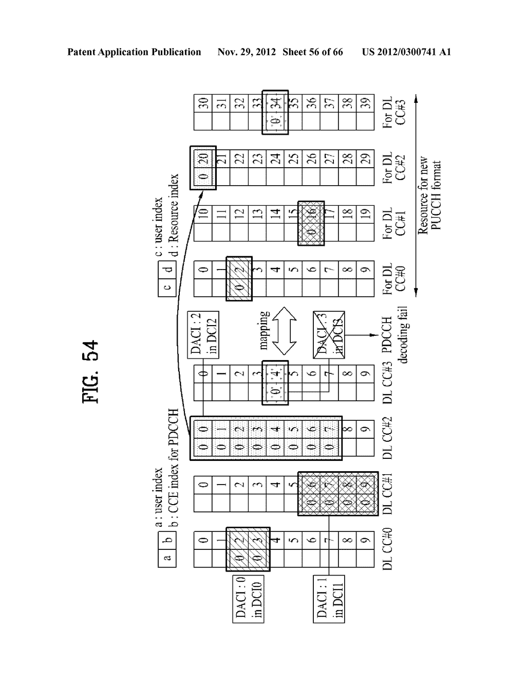 METHOD AND APPARATUS FOR TRANSMITTING CONTROL INFORMATION IN A WIRELESS     COMMUNICATION SYSTEM - diagram, schematic, and image 57