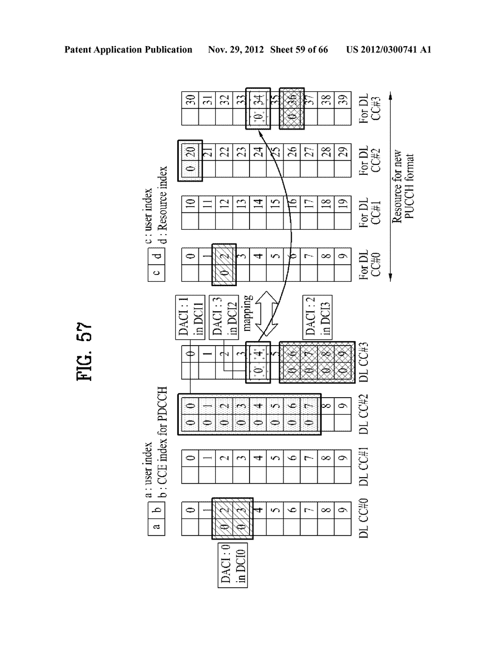 METHOD AND APPARATUS FOR TRANSMITTING CONTROL INFORMATION IN A WIRELESS     COMMUNICATION SYSTEM - diagram, schematic, and image 60