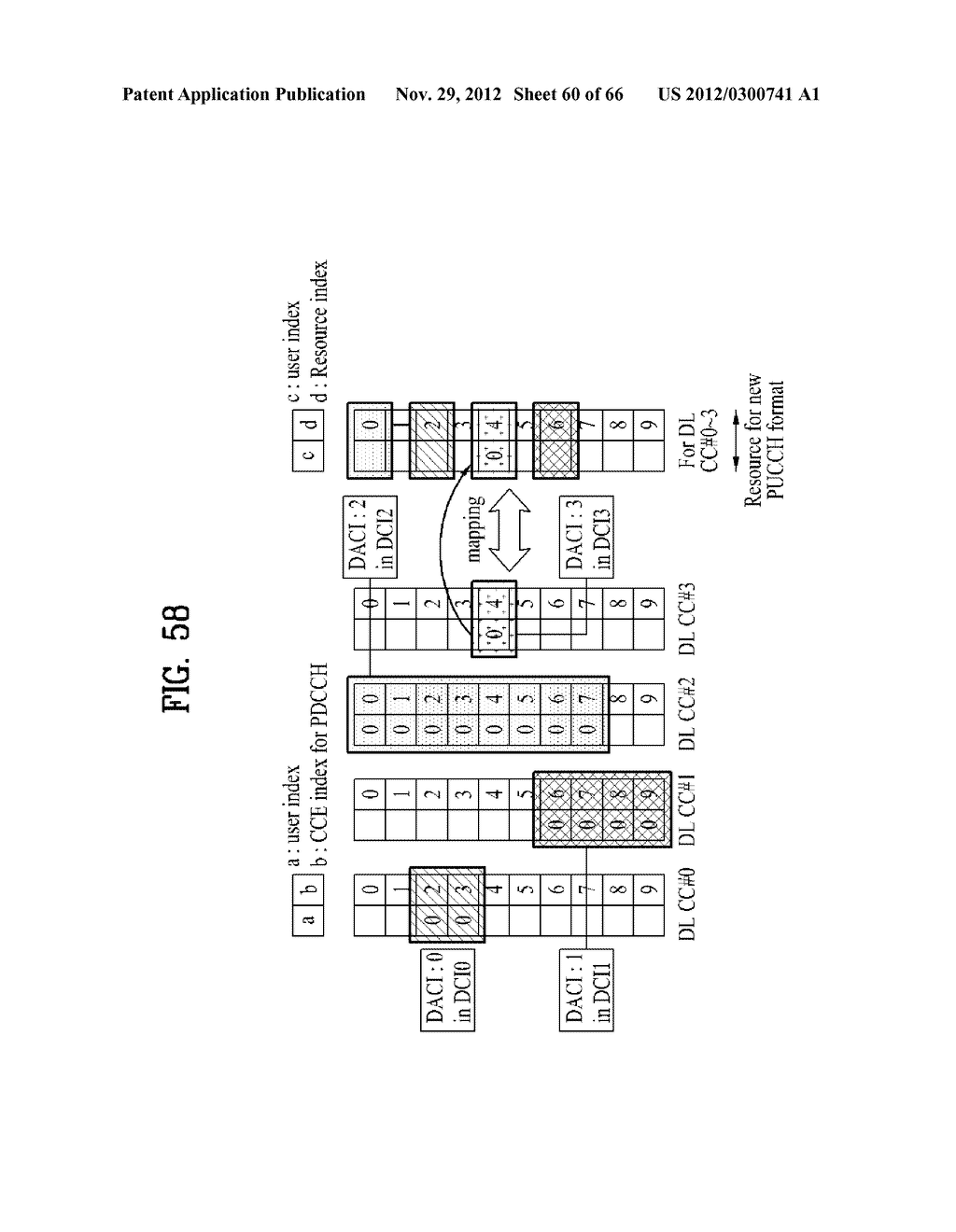 METHOD AND APPARATUS FOR TRANSMITTING CONTROL INFORMATION IN A WIRELESS     COMMUNICATION SYSTEM - diagram, schematic, and image 61