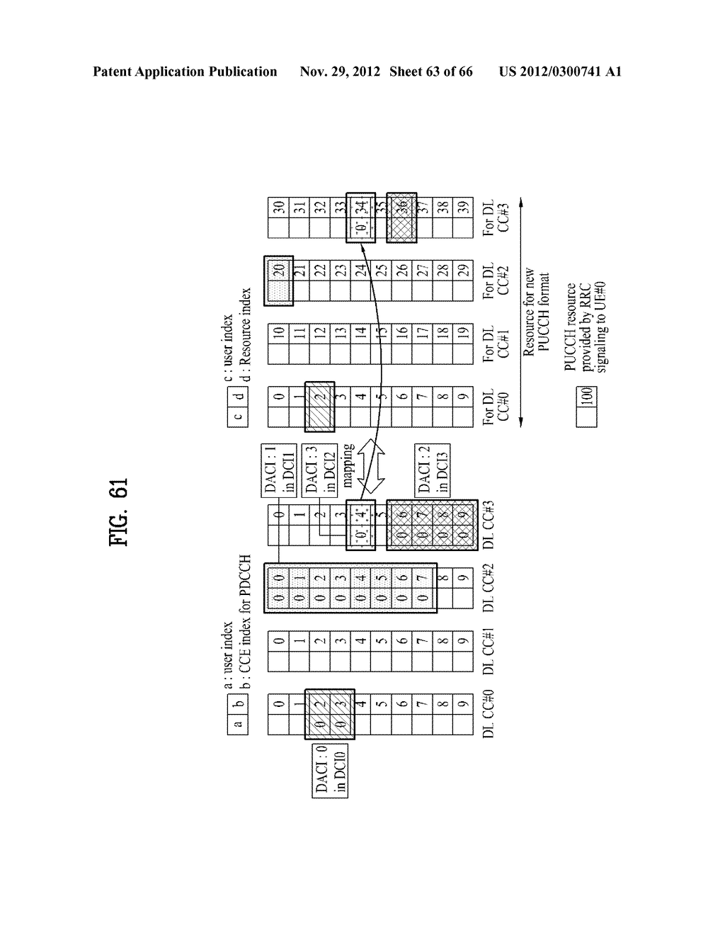 METHOD AND APPARATUS FOR TRANSMITTING CONTROL INFORMATION IN A WIRELESS     COMMUNICATION SYSTEM - diagram, schematic, and image 64