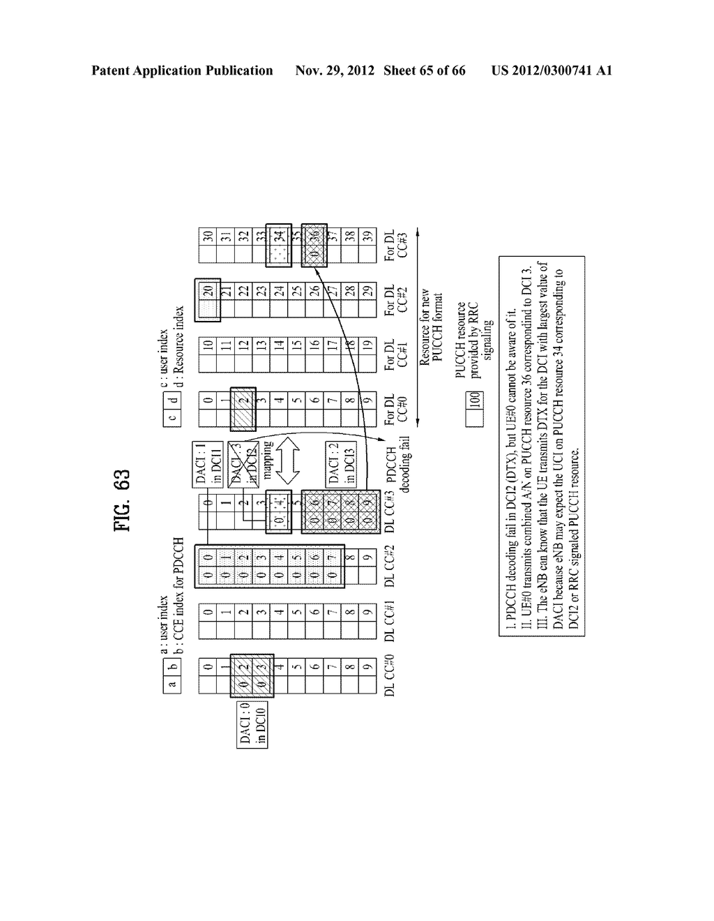 METHOD AND APPARATUS FOR TRANSMITTING CONTROL INFORMATION IN A WIRELESS     COMMUNICATION SYSTEM - diagram, schematic, and image 66